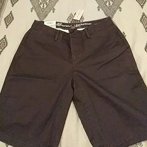 New stretch short green olive.
